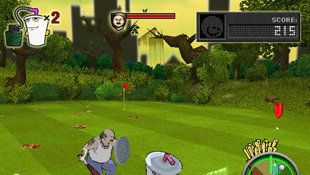 Aqua Teen Hunger Force Zombie Ninja Pro-Am Screenshot 5