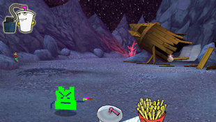 Aqua Teen Hunger Force Zombie Ninja Pro-Am Screenshot 6