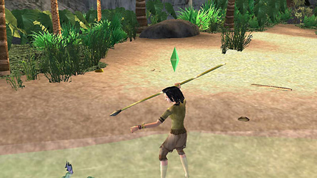 The Sims 2: Castaway Screenshot 1