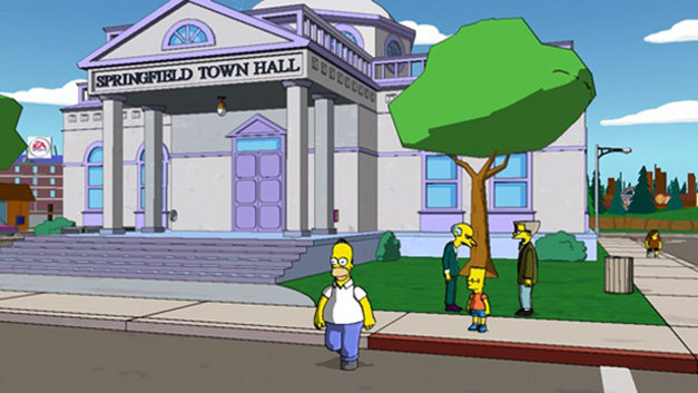 The Simpsons Game Screenshot 1