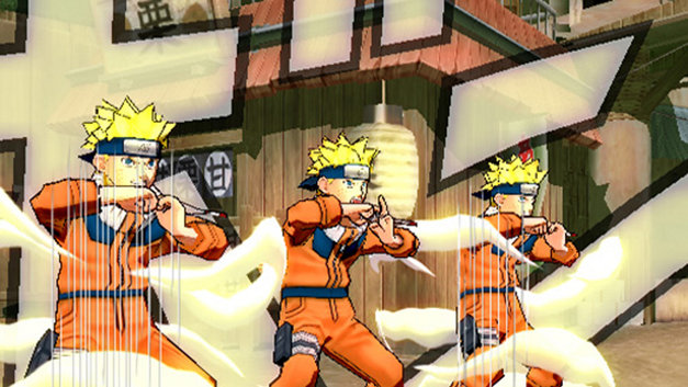 Naruto: Ultimate Ninja 3 Screenshot 1