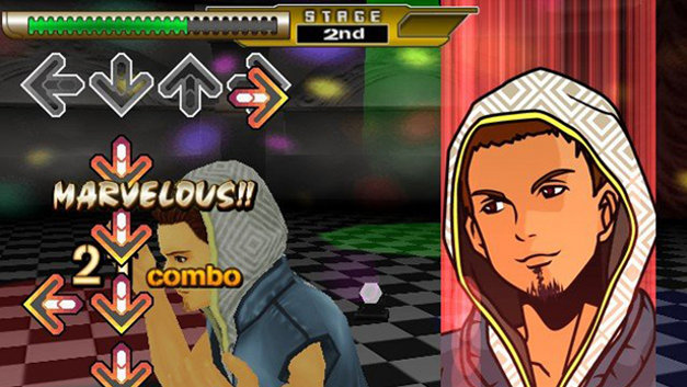 Dance Dance Revolution X Screenshot 1