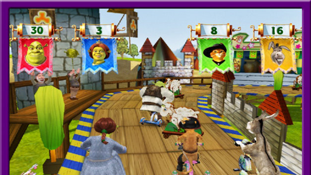 Shrek's Carnival Craze Screenshot 7