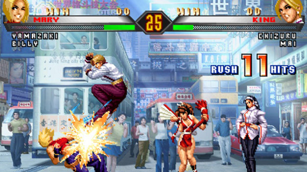 The King of Fighters '98 Ultimate Match Screenshot 1