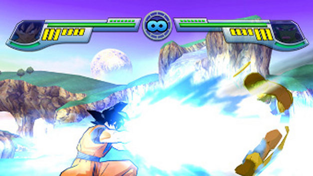 Dragon Ball Z: Infinate World Screenshot 1