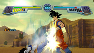 Dragon Ball Z: Infinate World Screenshot 8