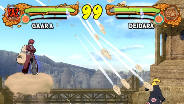 Ultimate Ninja 4: Naruto Shippuden Screenshot 1