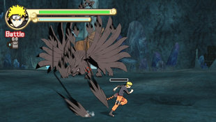Ultimate Ninja 4: Naruto Shippuden Screenshot 2