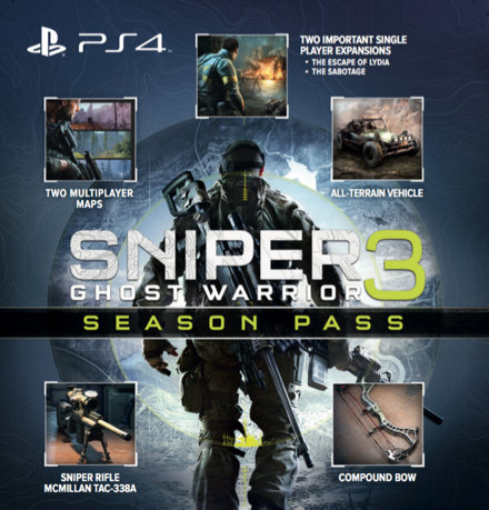Sniper Ghost Warrior 3 Season Pass Edition brings you access to the entire  range of downloadable content.