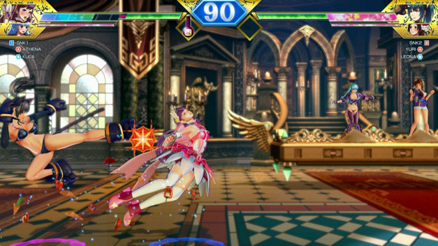 SNK HEROINES ~Tag Team Frenzy~ Screenshot 1