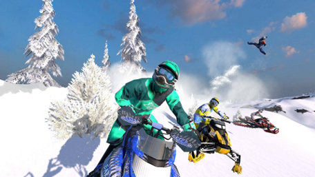 Snow Moto Racing Freedom Trailer Screenshot