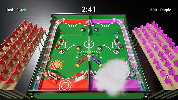 Soccer Pinball - Screenshot INDEX