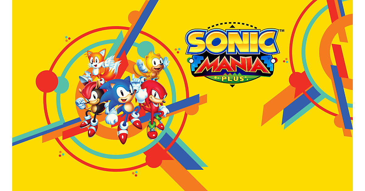 Sonic Mania Plus Game | PS4 - PlayStation