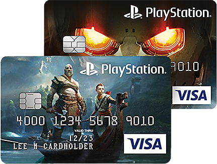 Sony Rewards - PlayStation Card Designs