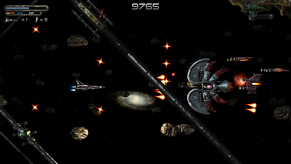 Space Blaze - Screenshot INDEX