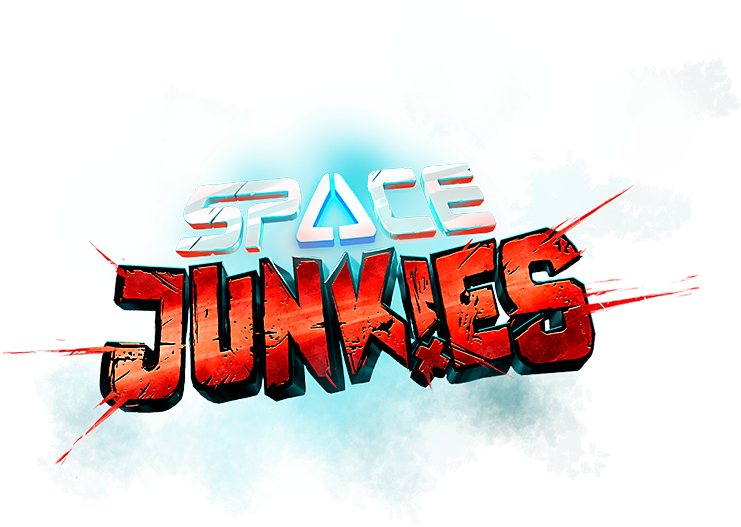 Logotipo de Space Junkies