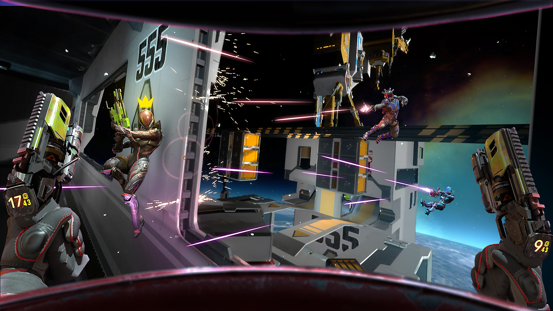 Space Junkies - Key Features Screenshot 3