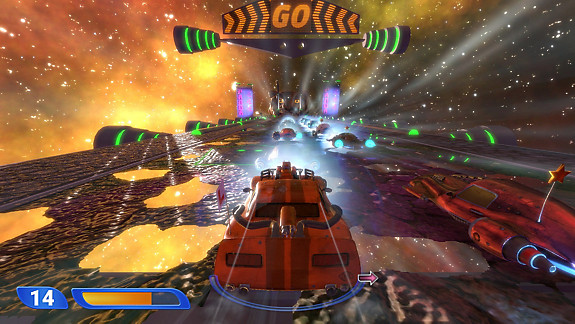 Space Ribbon – Slipstream to the Extreme - Screenshot INDEX