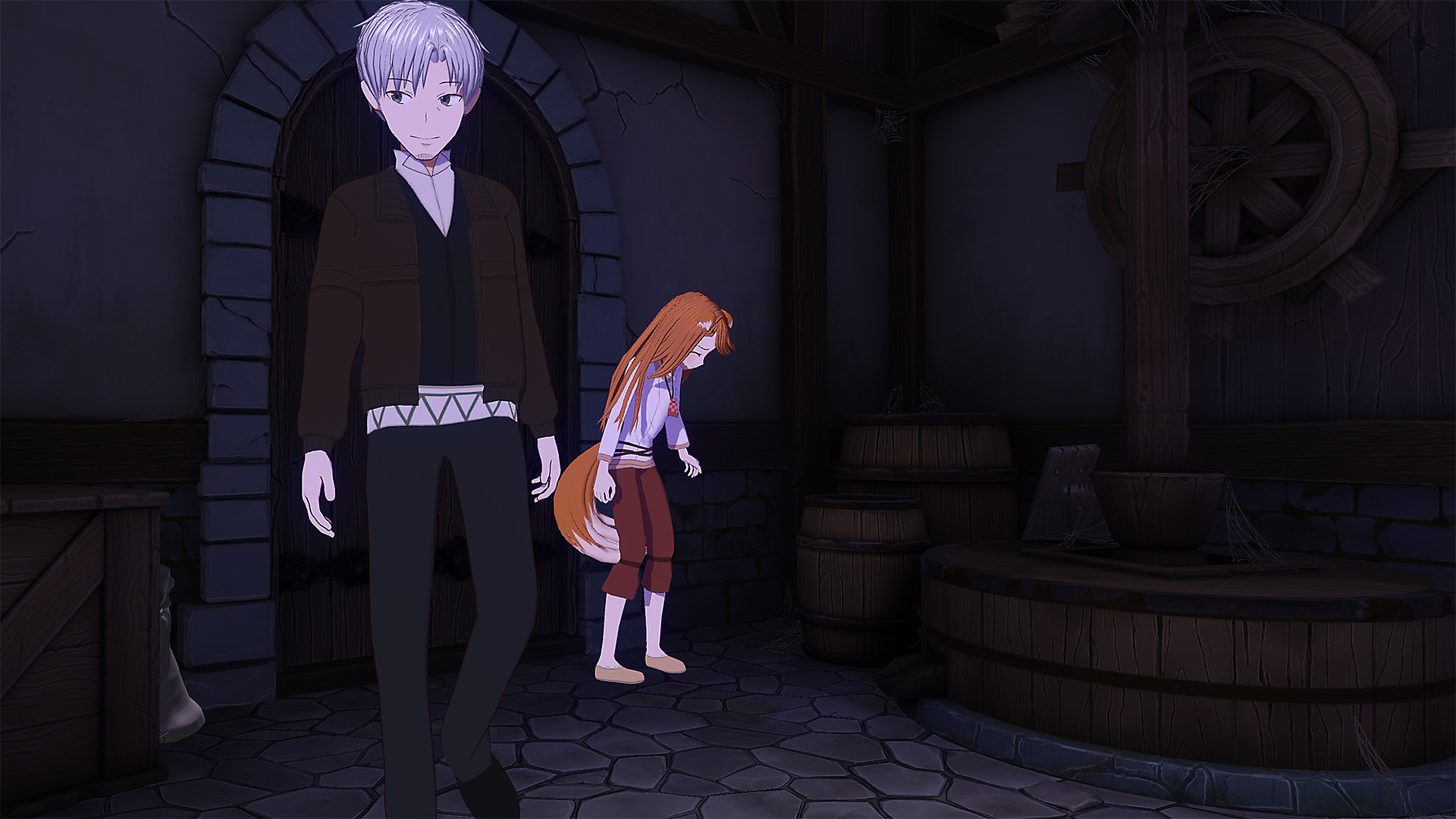 Gameplay de Spice and Wolf VR
