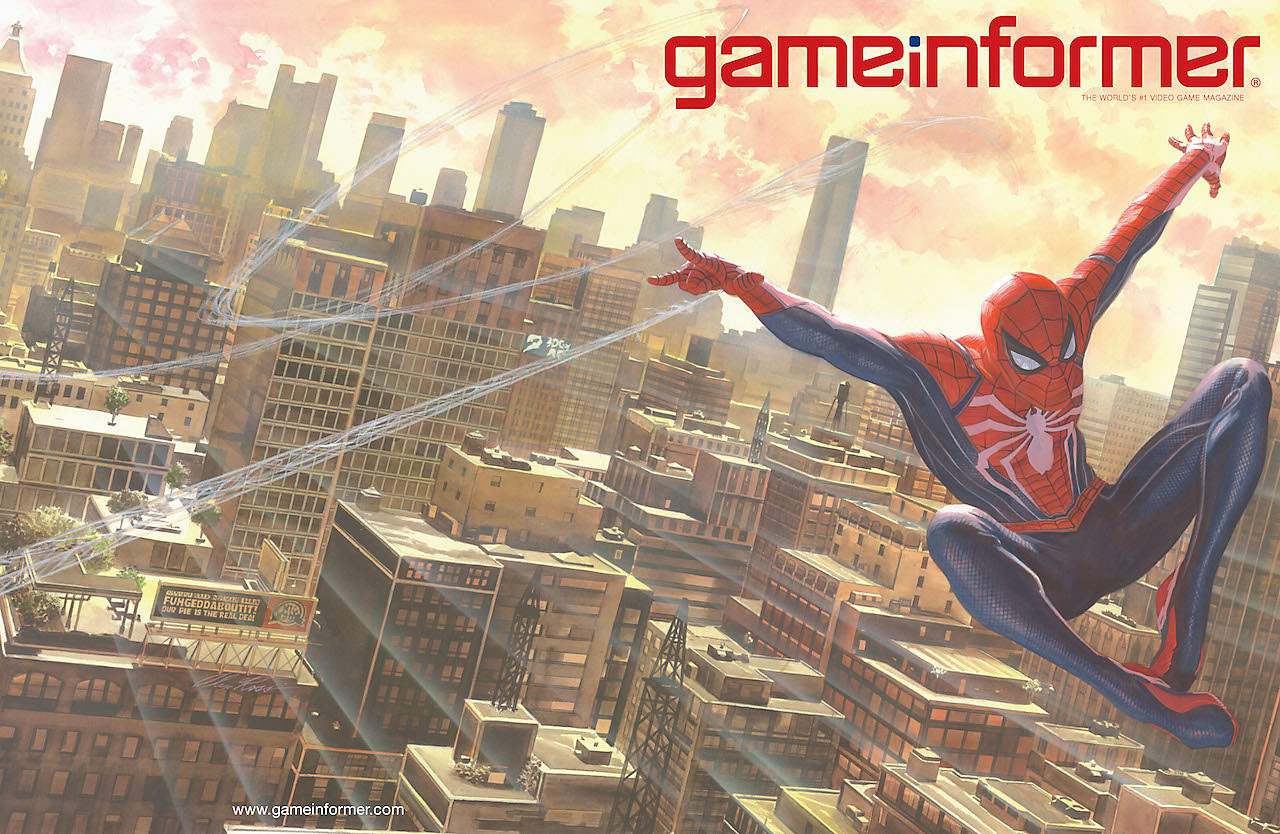 Game Informer Marvel's Spider-Man Cover