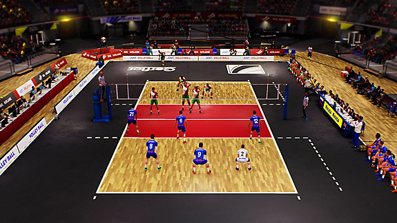 SPIKE VOLLEYBALL - Screenshot INDEX