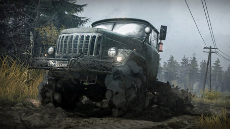 Spintires: MudRunner Trailer Screenshot