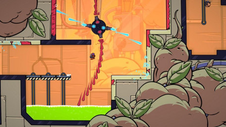 Splasher Trailer Screenshot