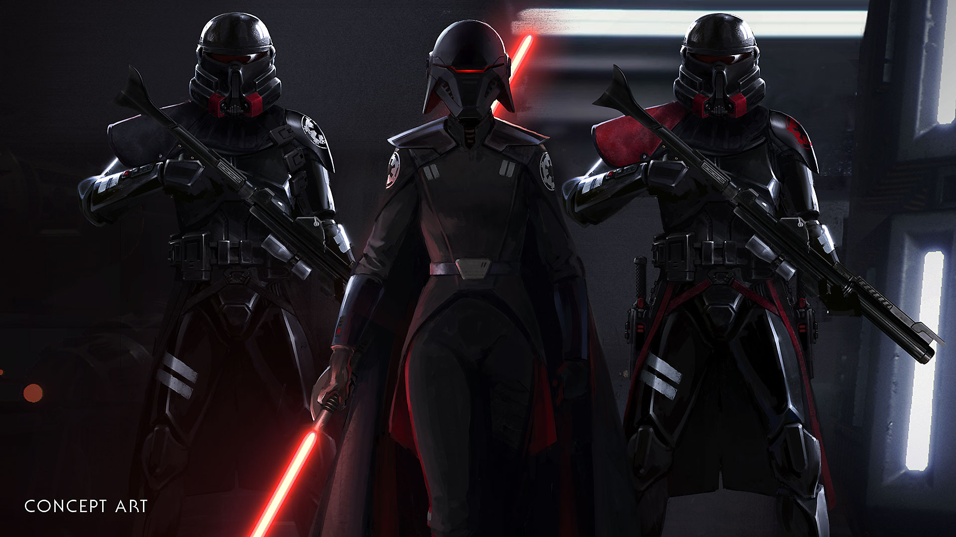 STAR WARS Jedi: Fallen Order - Key Features Concept Art