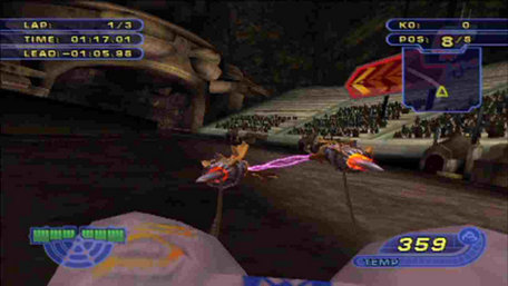 Star Wars®: Racer Revenge™ (PS2 Classic) Trailer Screenshot