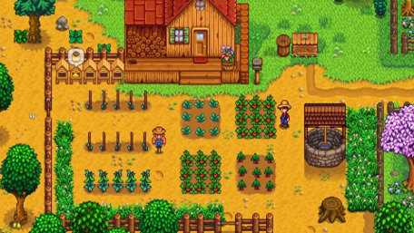 Stardew Valley Game Screenshot