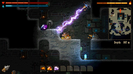 SteamWorld Dig Trailer Screenshot