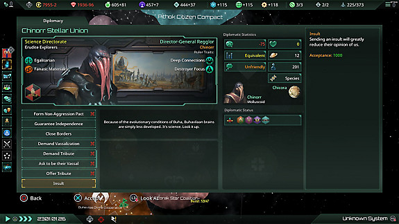 Stellaris: Console Edition - Screenshot INDEX