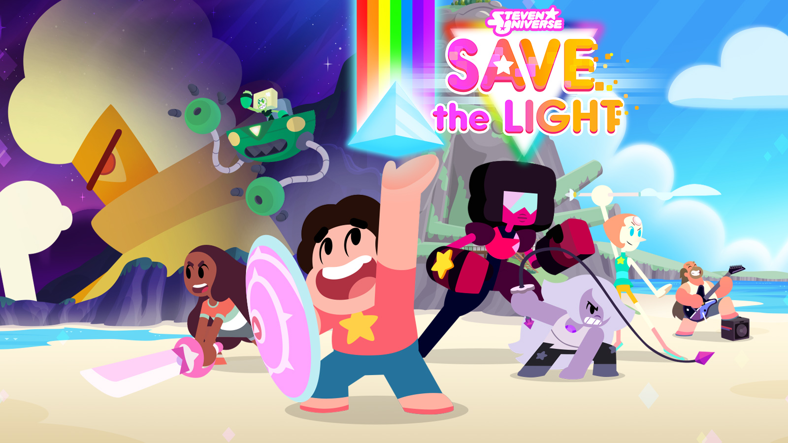 Steven Universe Save The Light Game