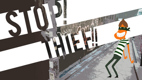 Stop! Thief!! Trailer Screenshot