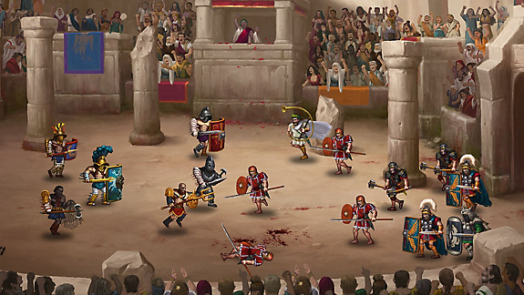Story of a Gladiator - Screenshot INDEX