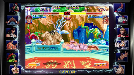 Street Fighter 30th Anniversary Collection Trailer Screenshot