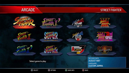 Street Fighter 30th Anniversary Collection PS4 Game Overview