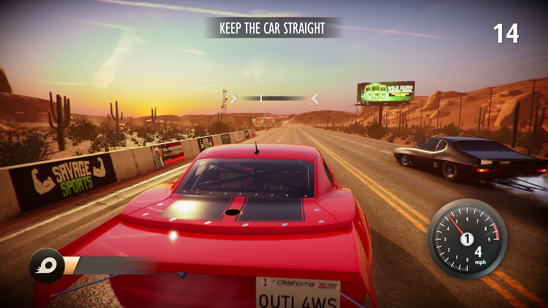 Gameplay de Street Outlaws: The List