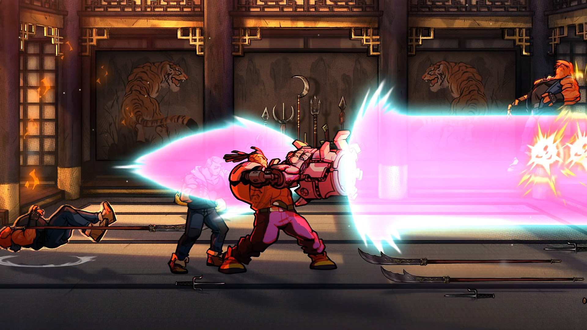 Streets of Rage 4 - Key Features Screenshot 2