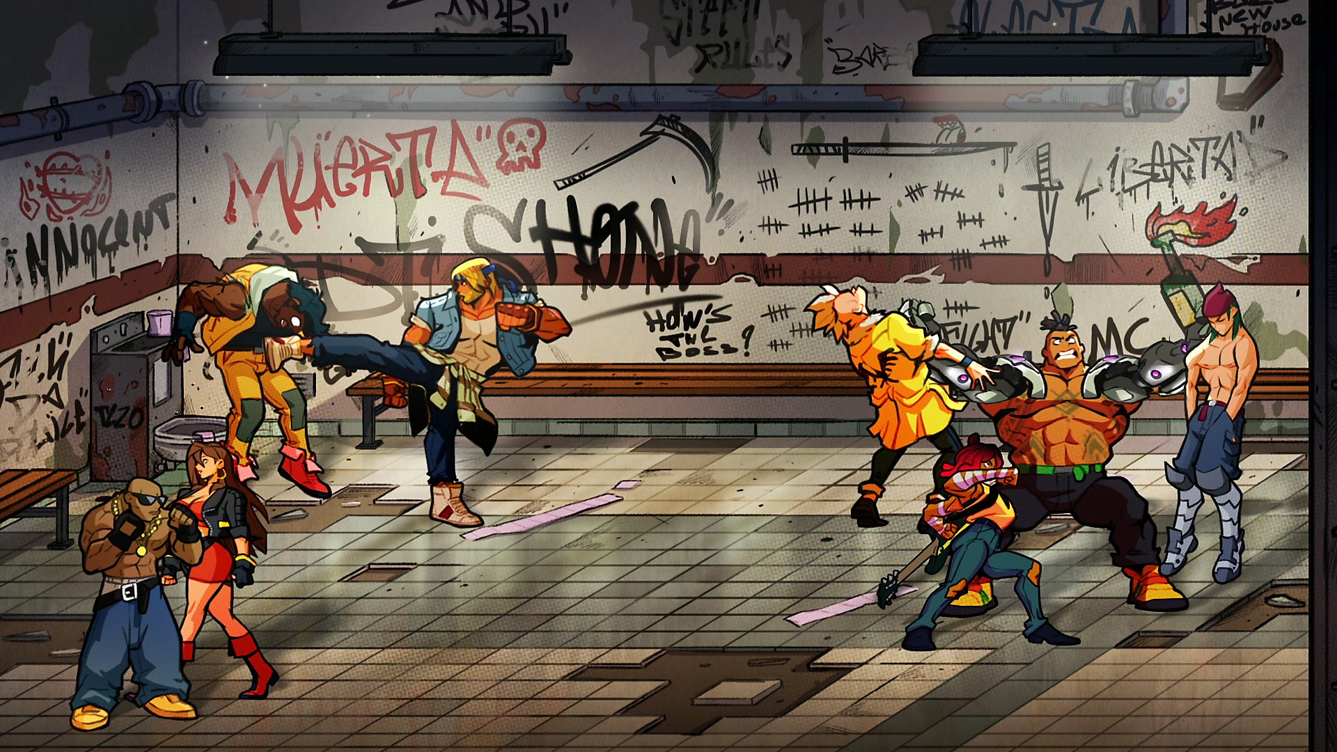 Streets of Rage 4 - Key Features Screenshot 1