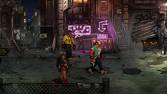Streets Of Rage 4 - Screenshot INDEX
