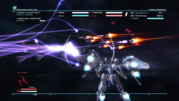 Strike Suit Zero: Director's Cut Screenshot 7