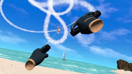 Stunt Kite Masters VR Trailer Screenshot