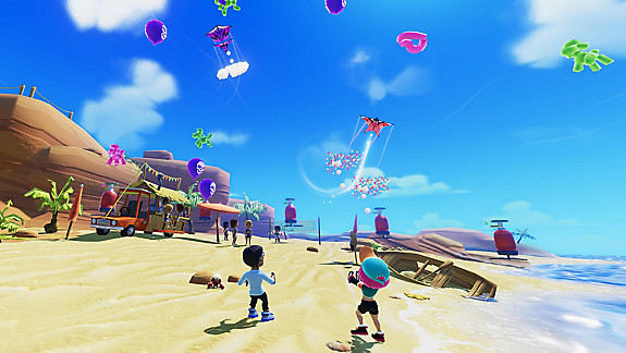 Stunt Kite Party - Screenshot INDEX