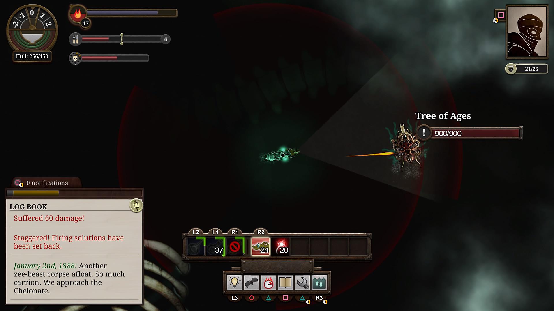Скриншот к игре Sunless Sea v.2.2.7.3165 [GOG] (2015) скачать торрент Лицензия