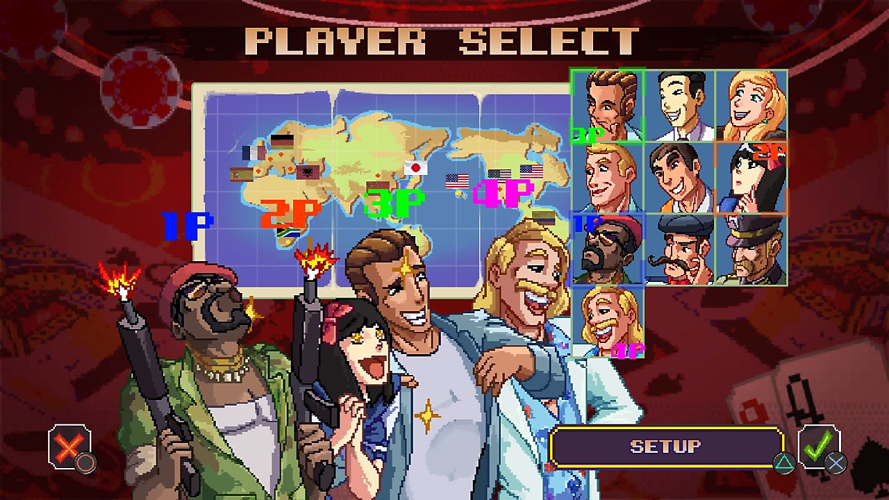 Player select screen