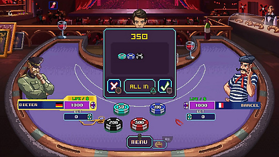 Super Blackjack Battle II - Turbo Edition - The Card Warriors - Screenshot INDEX