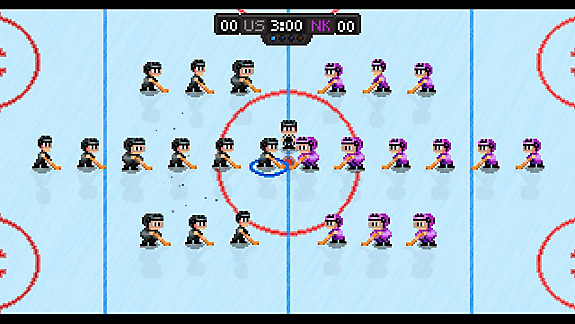 Super Blood Hockey - Screenshot INDEX