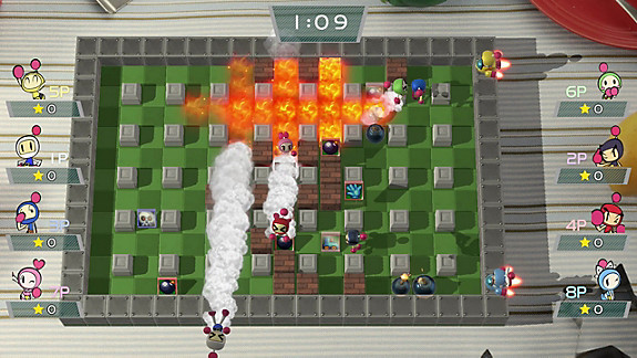 Super Bomberman R - Screenshot INDEX