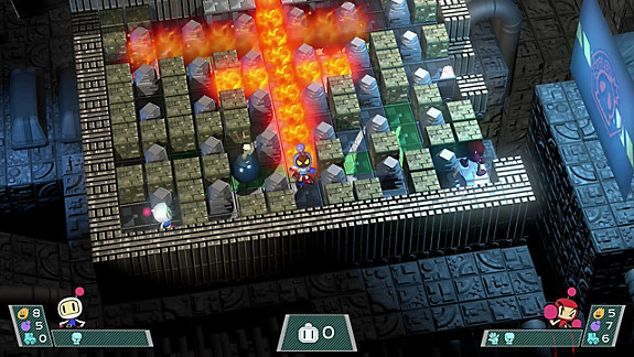 Super Bomberman R screenshot